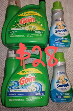 Gain/Snuggle Laundry Bundle for Sale in Mesa, AZ