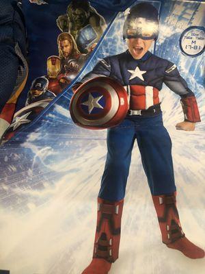 Captain America super hero (size m7/8)) for Sale in Jurupa Valley, CA