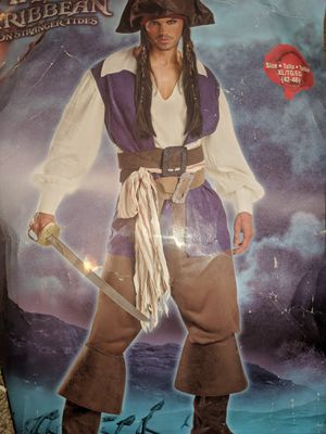 Captain Jack Sparrow Pirate Costume for Sale for sale  Kingsport, TN