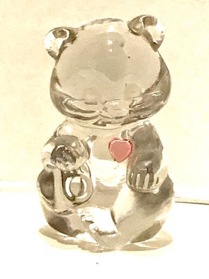 Collectible Fenton Art Glass Bear for Sale in Moorpark, CA
