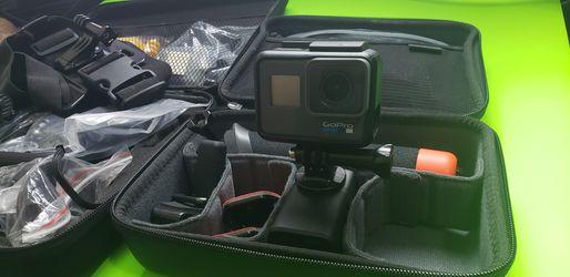 GoPro 6 Black + Accessories for Sale in Chandler,  AZ
