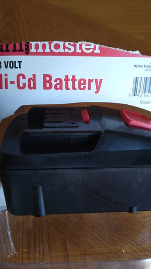 Drill master 18 volt battery for Sale in Loves Park, IL
