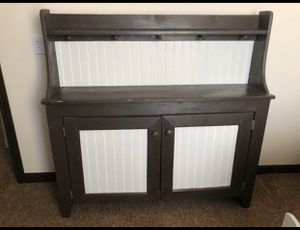 Handmade pine cabinet for Sale in Fort Wayne, IN