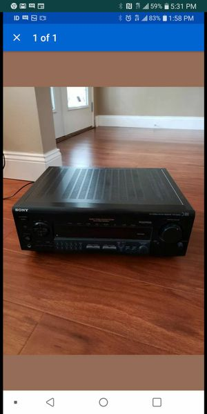 Sony sound processor reciever for Sale in Dublin, CA