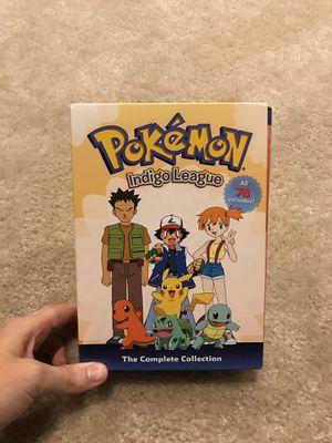 Pokémon Indigo League Complete DVD Series for Sale in Sunbury, OH