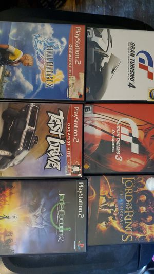 6 playstation 2 games for Sale in Piedmont, SC