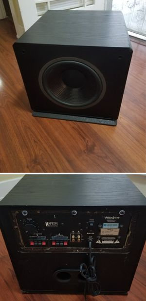 Velodyne 12 inch 400w powered subwoofer speaker for home stereo system for Sale in Long Beach, CA
