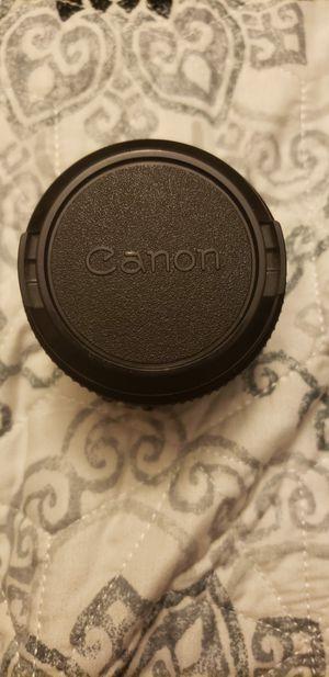 Canon lens fd 50mm 1: 1.8 for Sale in Herndon, VA