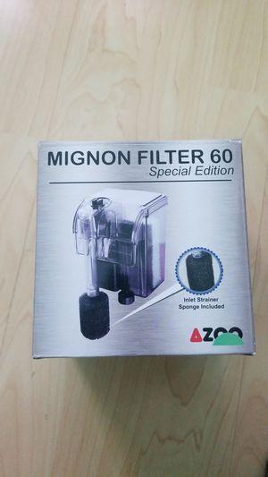 Fish tank aquarium Mignon filter 60 for Sale in Rosemead, CA