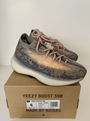 Adidas Yeezy Boost 380 Mist Athletic Shoes Mens Size 6 Brown Tan Gray Non RF for Sale in San Diego, CA