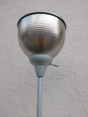Silver floor lamp. 6 feet tall for Sale in Fort Myers, FL