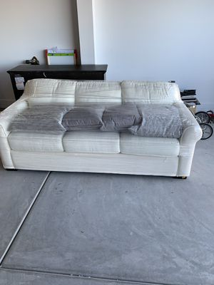 Mint condition white couch for Sale in Phoenix, AZ