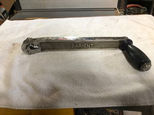 Barient Winch handle Stainless steel 12 inches long I do have others if you want to inquire for Sale in Detroit, MI