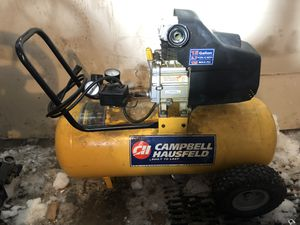 Campbell Hausfield 15 Gal Air Compressor for Sale in Rudd, IA