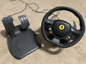 Thrustmaster Xbox Steering Wheel for Sale in Fresno, CA