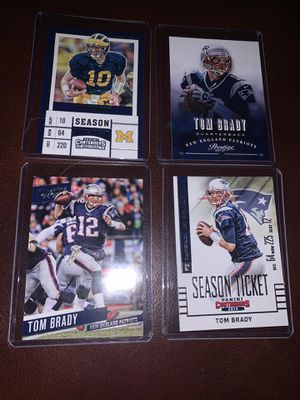 7 Tom Brady cards for Sale in Stoughton, MA