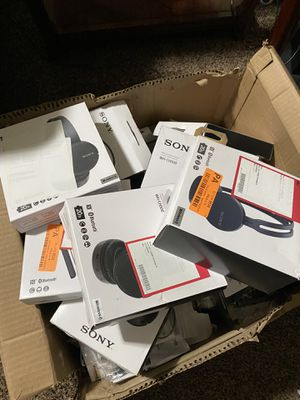 Get your Xmas stuff done now! SONY HEADPHONES AND EARBUDS! Only $5- $20! for Sale in West Jordan, UT