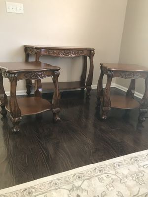 2 End Table and a Console Table for Sale in Dearborn Heights, MI