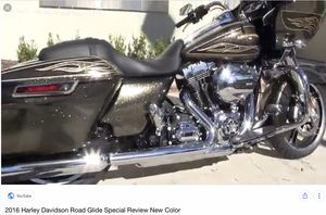 Harley Davidson Roadglide 2016 , 9000 miles perfect condition. Has matching tour pack, lower fairings, upgraded suspension. $19,500 for Sale in Newport, ME