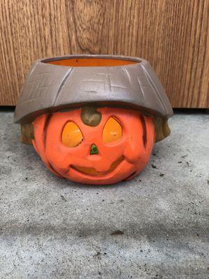 Pumpkin candle for Sale in Glen Ellyn, IL