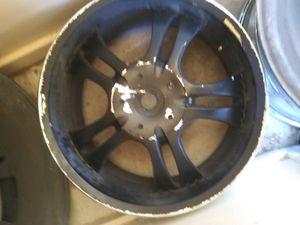 6 lug rim w caps chrome for Sale in San Antonio, TX