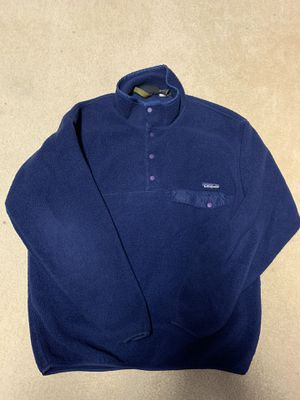 Blue vintage Patagonia Synchilla sweater *made in USA* for Sale in Mount WASHING, OH