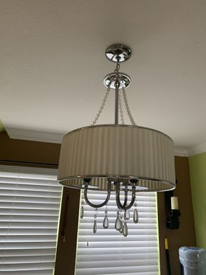 Chrome chandelier for Sale in Austin, TX
