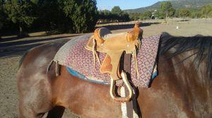 Kids saddle or decorative saddle for Sale in Eagar, AZ