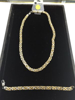 STAINLESS STEEL CHAIN/bracelet for Sale in Baltimore, MD