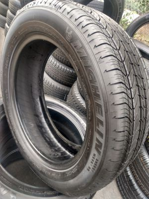 SET TIRES MICHELIN 235/55 R18 $300 CASH ESPECIAL PRICE for Sale in Buena Park, CA