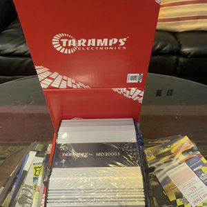 Taramps Car Audio . Car Stereo Amplifier . 3000 watt Super Class D . New Years Super Sale $219 While They Last . New for Sale in Mesa, AZ