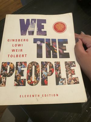 WE THE PEOPLE TEXTBOOK 11th edition for Sale in San Antonio, TX