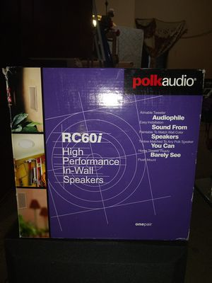 Polkaudio RC60i for Sale in Chicago, IL