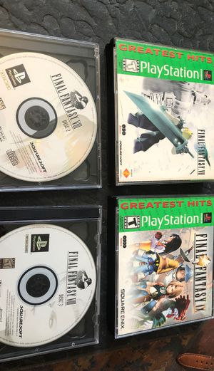 Final Fantasy 7,8,9 for PlayStation 1 for Sale in Clearwater, FL