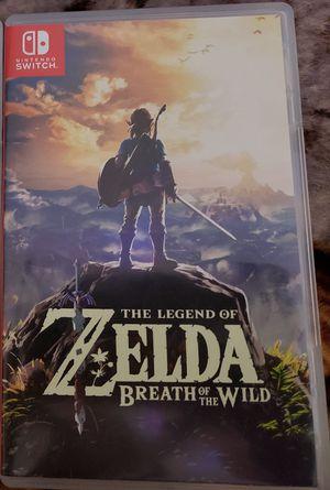 Zelda switch game for Sale in Queen Creek, AZ