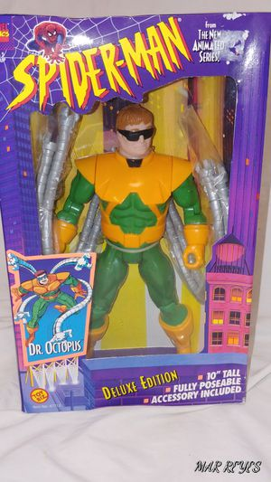 "MARVEL COMICS ""DR. OCTOPUS"" Deluxe 10 inch figure by Toy Biz for Sale in Queens, NY"