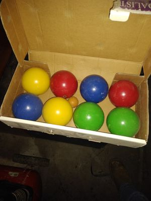 Wilson bocce ball complete set for Sale in Selma, CA