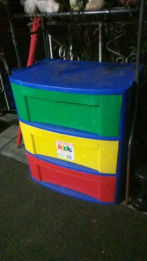 Sturdy thick sterlite three drawer storage box for Sale in Chesapeake, VA