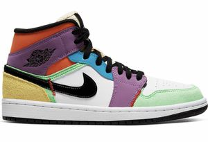 Air Jordan 1 Mid Multicolor' (Sz 10.5 Men's) * Sz 12 Women's * for Sale in Fresno, CA