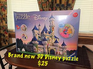 3D Disney puzzle for Sale in Clarence, NY