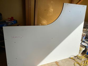 Large white L shape Desk-awesome!!! for Sale in Huntingdon Valley,  PA