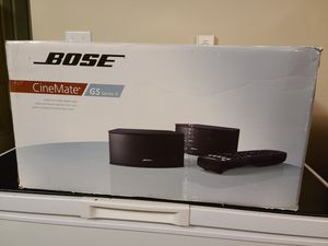 Bose CineMate Series II Digital Home Theater Speaker System for Sale in Renton, WA