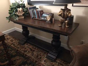 Sofa table or full length dining table for Sale in Carlsbad, CA