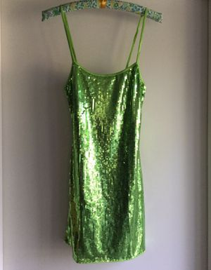 New Green Sequin Dress ~ Halloween Costume 🎃 for Sale in Fresno, CA