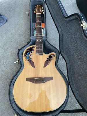 Ovation Celebrity Deluxe CS245 12-String Acoustic/Electric guitar for Sale in OH, US