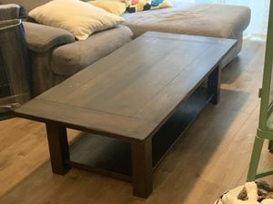 Solid wood, Pottery Barn Coffee Table for Sale in Seattle, WA