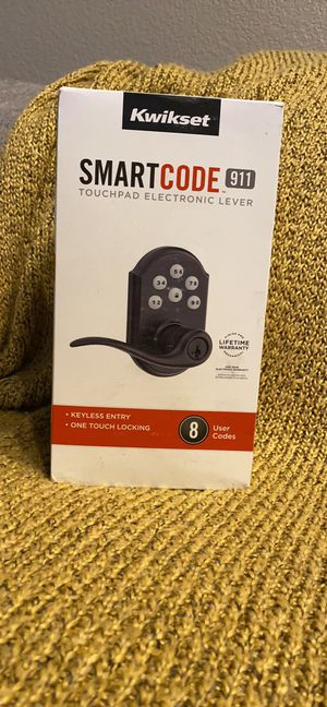 Touchpad door lock for Sale in North Las Vegas, NV