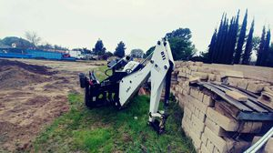 Bobcat excavation hand with 3 buckets for Sale in Los Angeles, CA