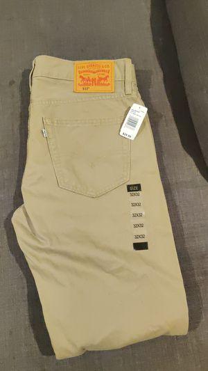 Brand New Men's Levi Khaki Pants 32x32 for Sale in Manassas, VA