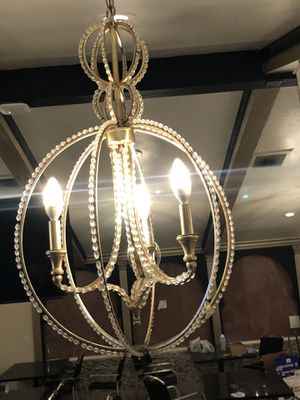 Champagne Crystal Globe Chandeliers for Sale in Anaheim, CA